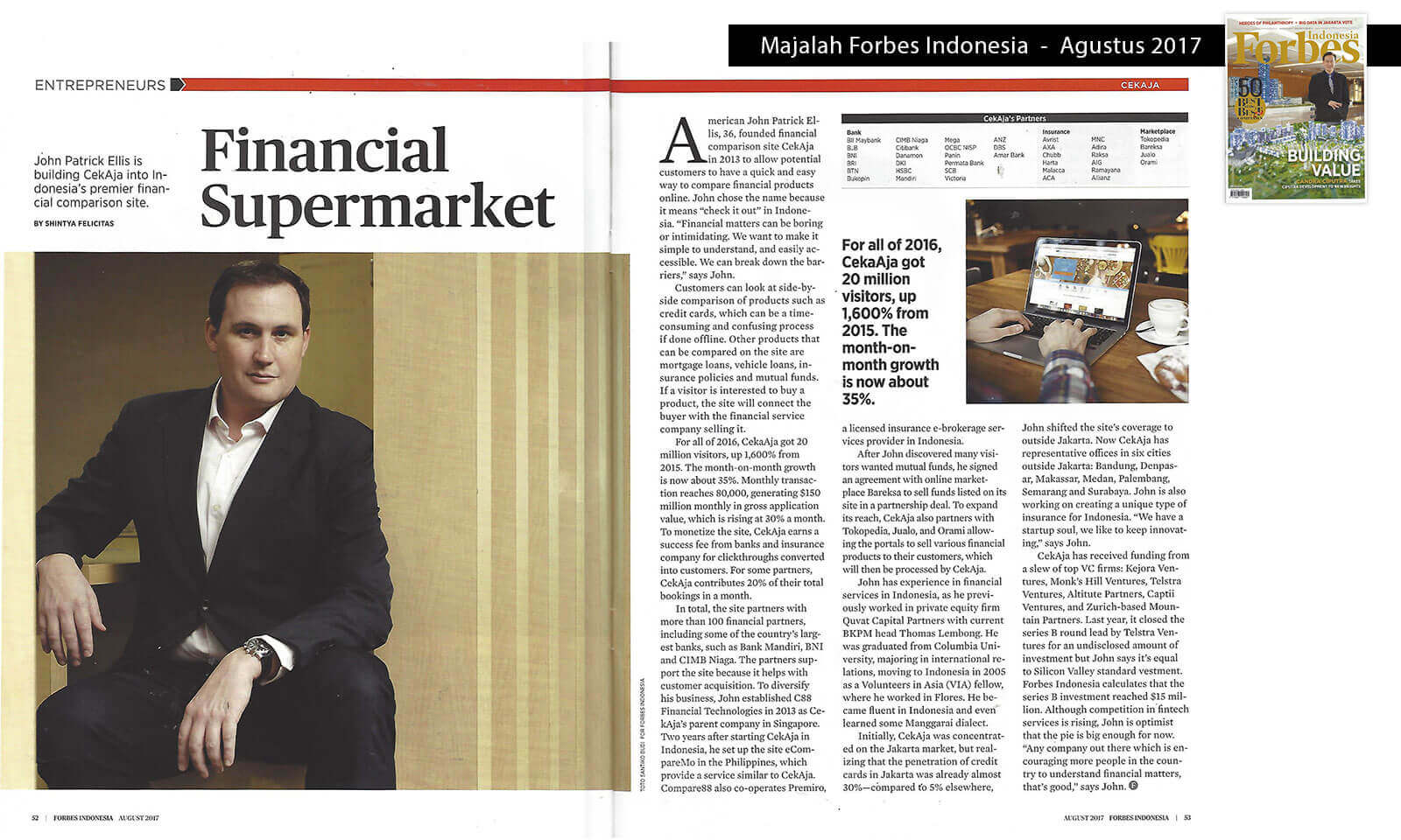 Financial Supermarket - Forbes Indonesia