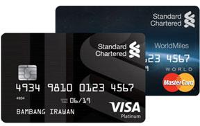 MasterCard WorldMiles & Visa Platinum