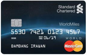 MasterCard WorldMiles