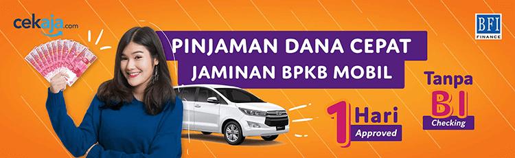 BFI Finance - Pinjaman Dana Tunai Jaminan BPKB Mobil   CekAja