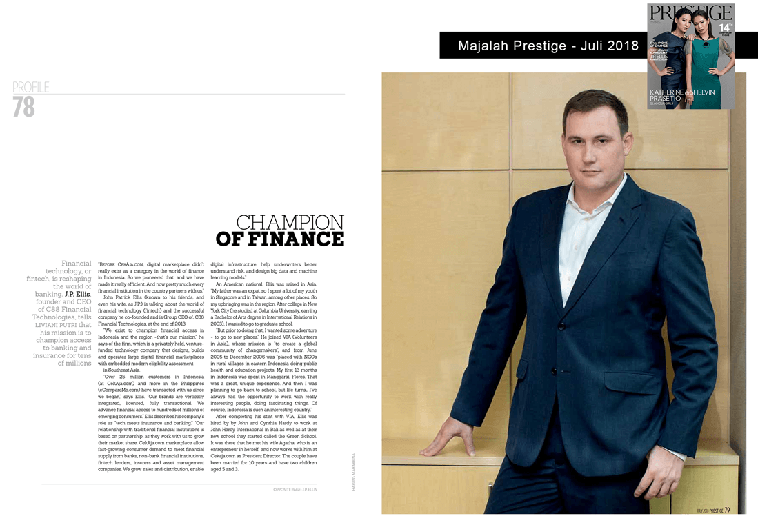 Champion of Finance - Prestige - page 1